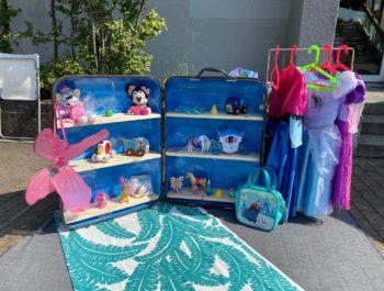 Kinderflohmarkt mit Pumptrack